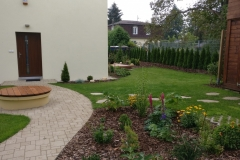 Realizace zahrady - Klánovice