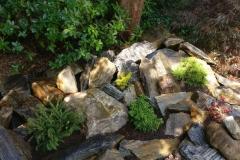 Skalka, recyklace kamenů