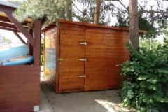 Zahradní domek - průchozí